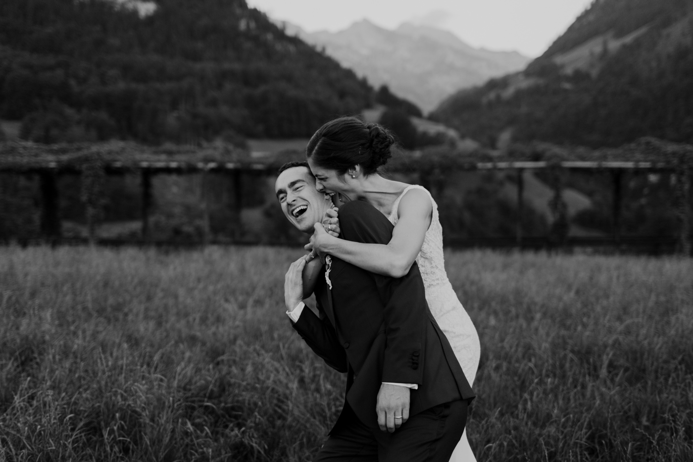 Wedding Portraits at Paxmontana Jugenstil Hotel