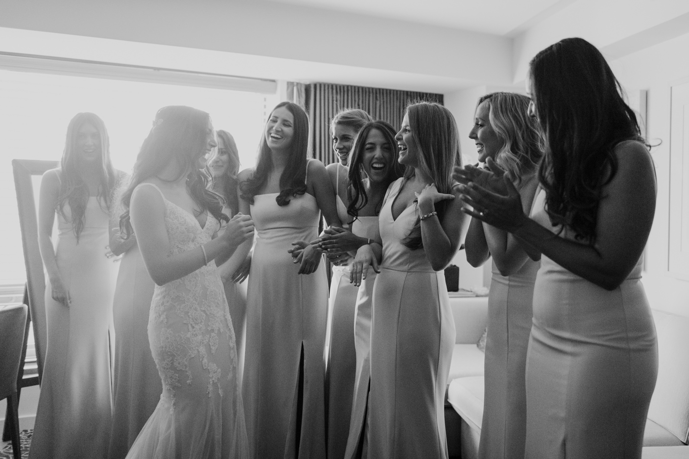 Bridal Prep at the Conrad Hotel in New York