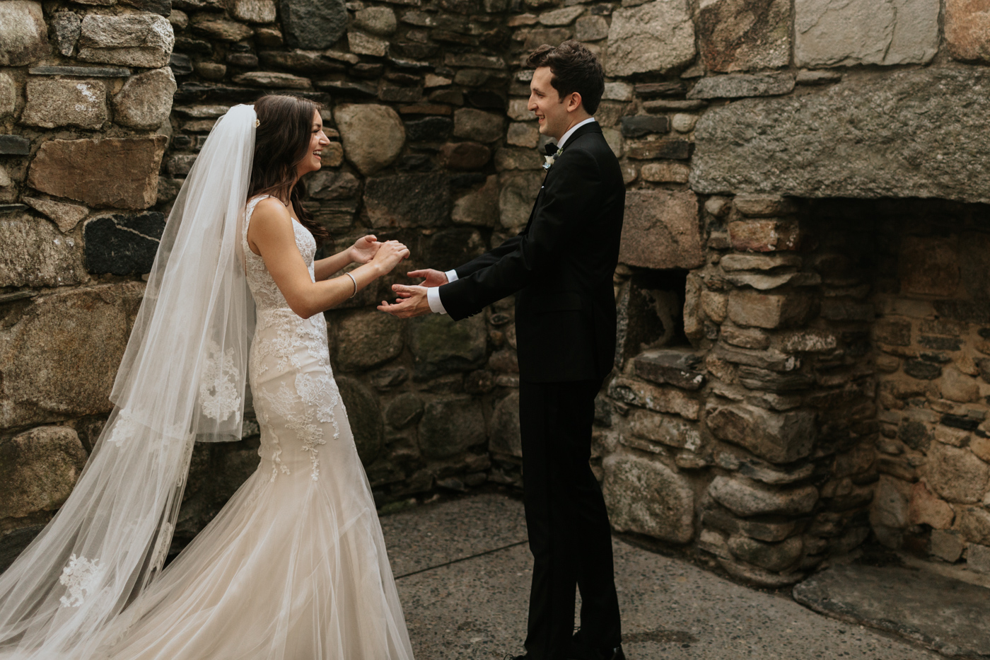 Irish Hunger Memorial Wedding