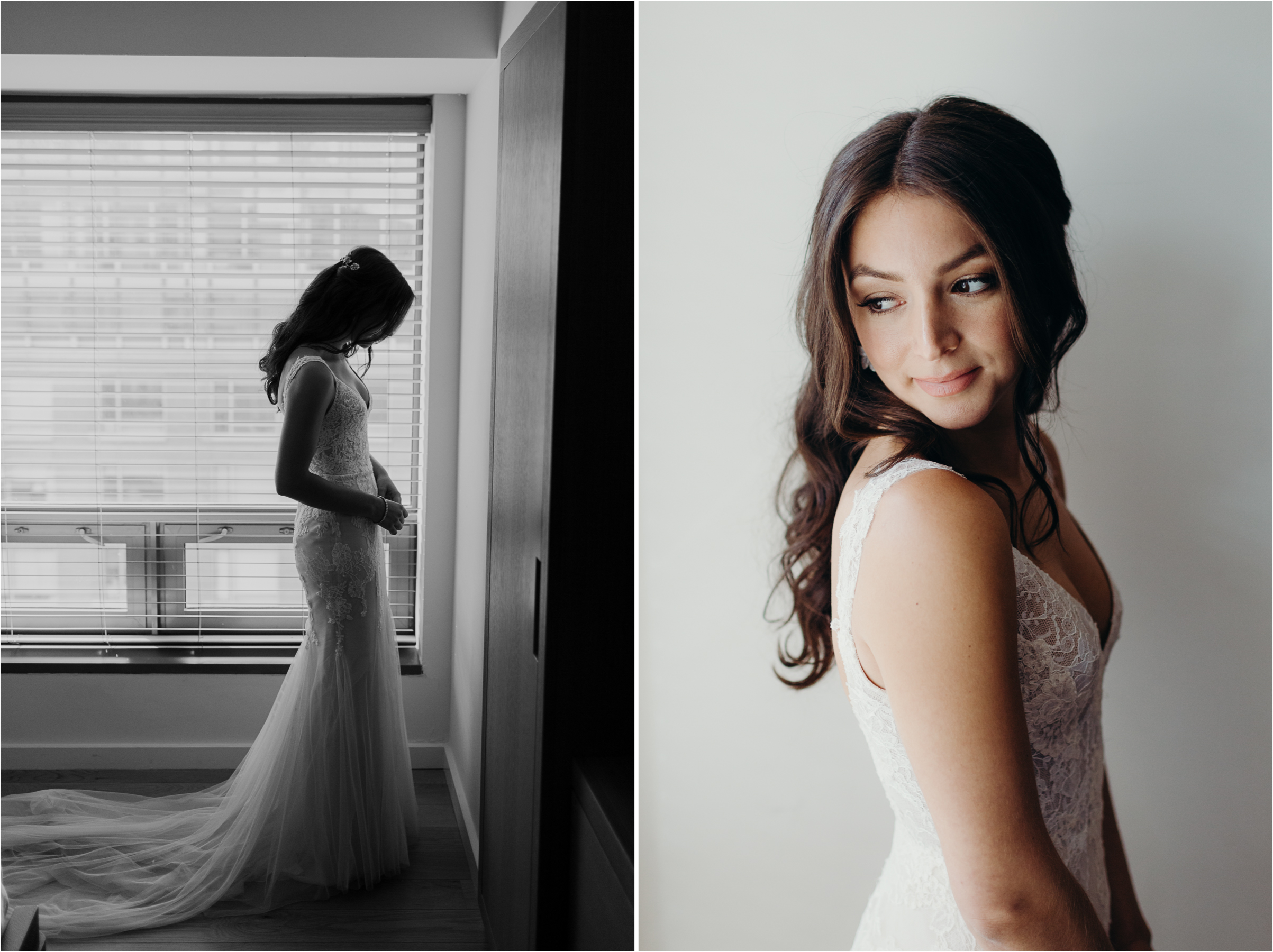 Bridal Prep at the Conrad Hotel New York