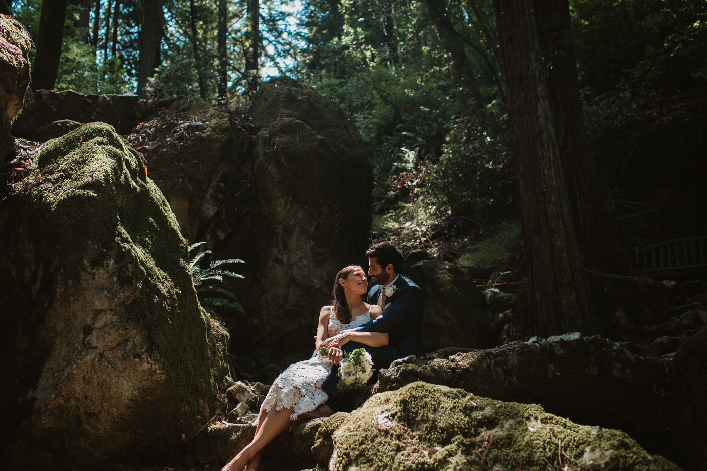 Redwoods at Ralston White Retreat Wedding