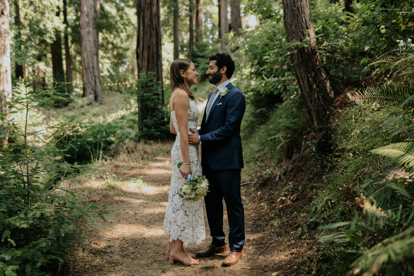 Redwoods Portraits at Ralston White Retreat Wedding