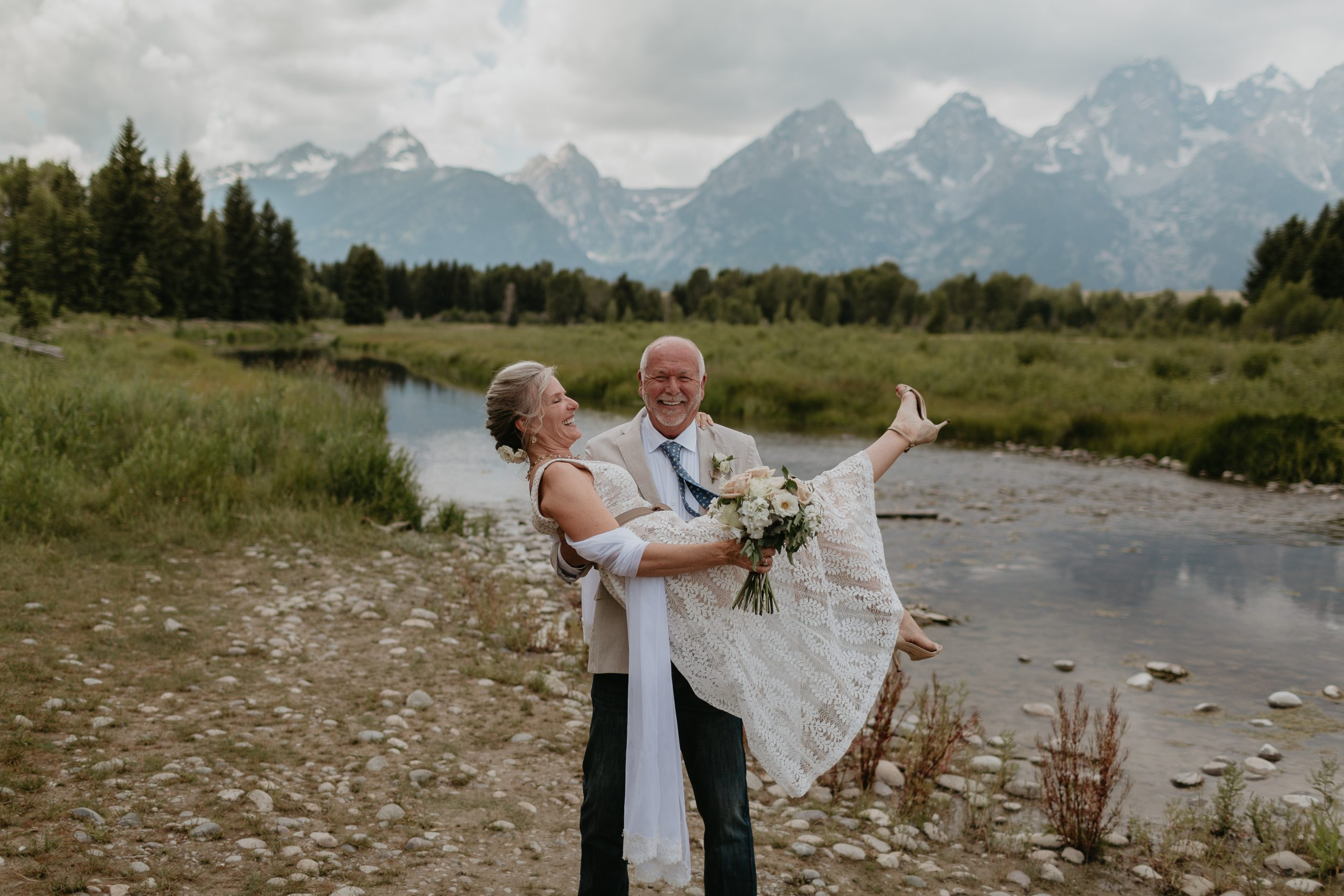Anne + Jim | Jackson Hole Wedding
