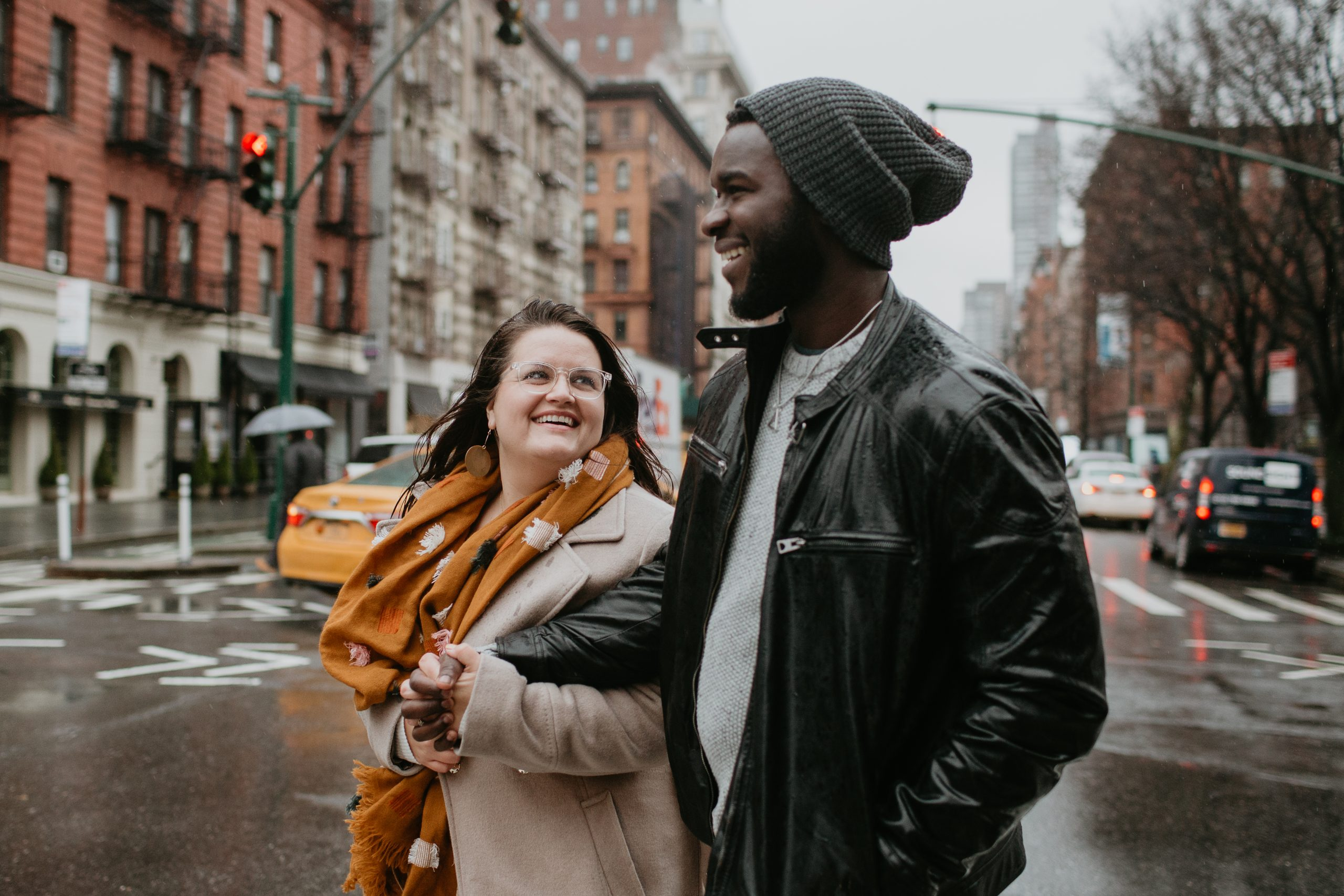 Brett + Souley | New York City Engagement