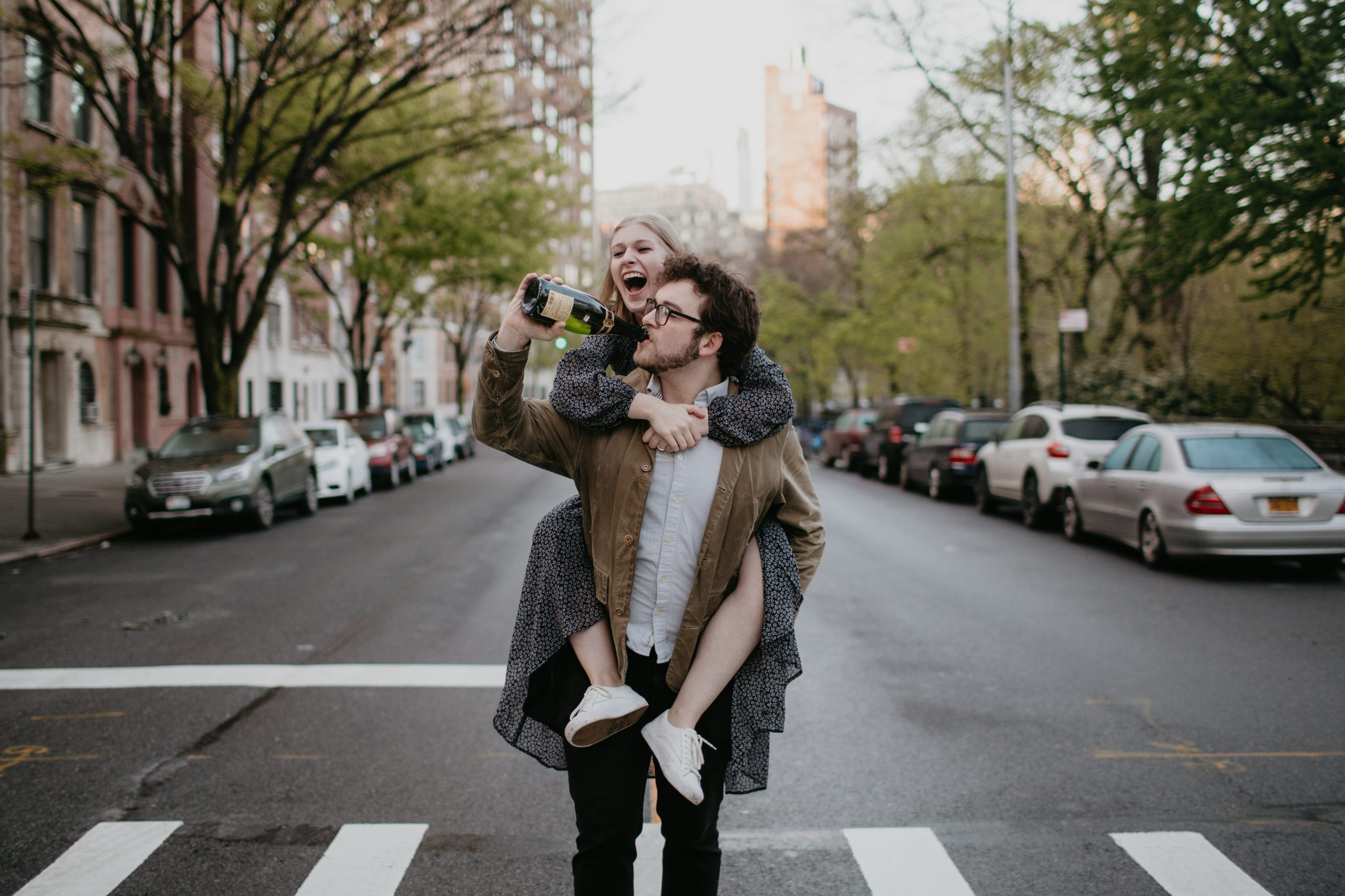 Katie + Daniel | NYC Engagement Session